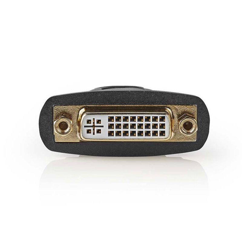 Αντάπτορας HDMI θηλ. - DVI-D 24+1p θηλ., Με Επίχρυσες Επαφές.