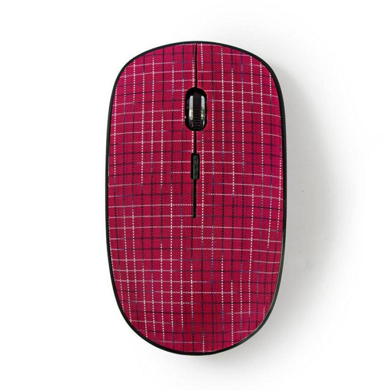 Ασύρματο Οπτικό Ποντίκι, 1600dpi Σε Ροζ Χρώμα