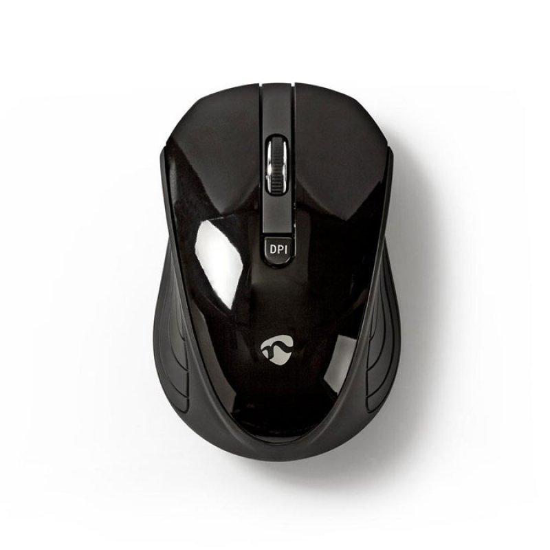 Ασύρματο Οπτικό Ποντίκι, 1600dpi Σε Μαύρο Χρώμα