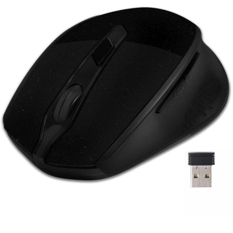 Ασύρματο Oπτικό Ποντίκι, 1600 DPI Σε Μαύρο Χρώμα