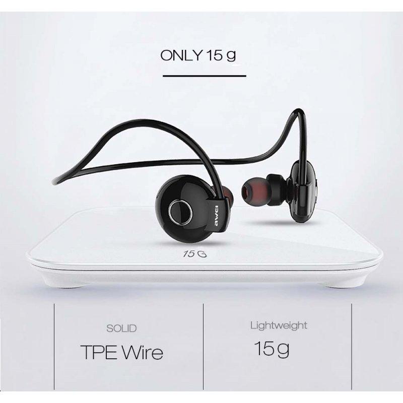 Bluetooth ασύρματα ακουστικά αθλητικού τύπου Awei a845bl