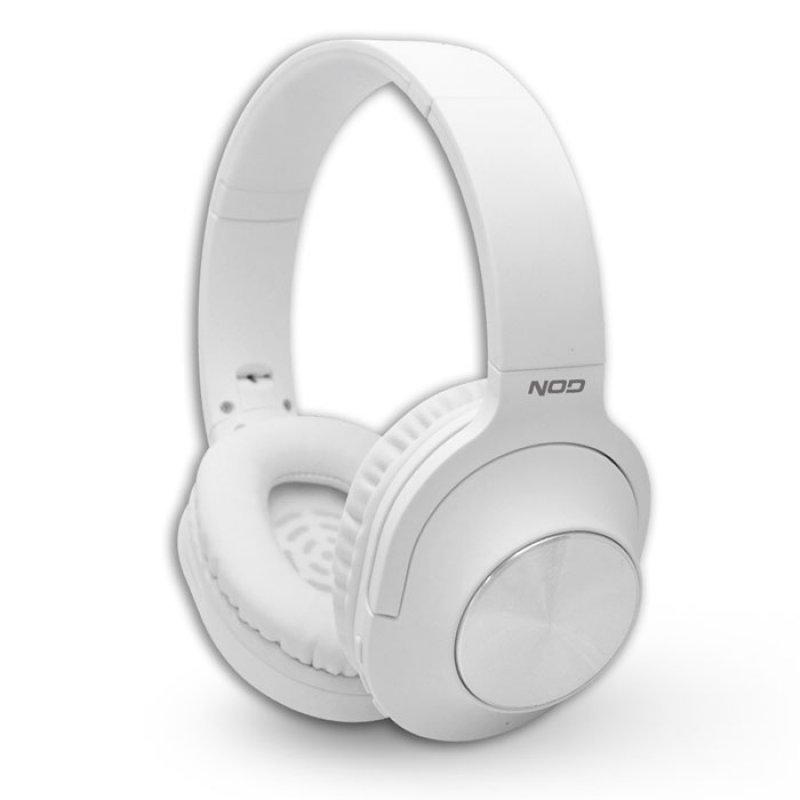 Bluetooth Over-Ear Ακουστικά Με Μικρόφωνο, Σε Λευκό Χρώμα
