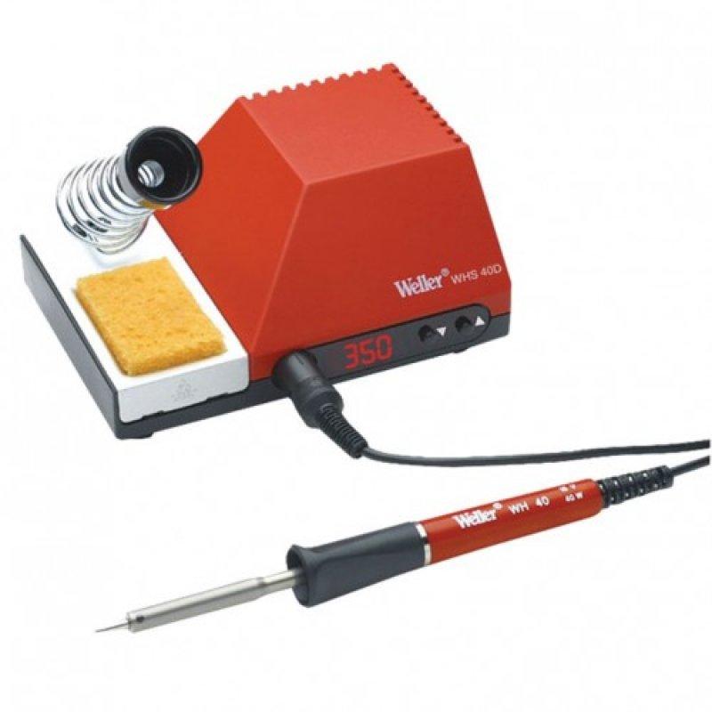 Σταθμός κόλλησης με έλεγχο θερμοκρασίας, ρύθμιση θερμοκρασίας 200 έως 450ο C, ισχύς 40W Weller WHS-40