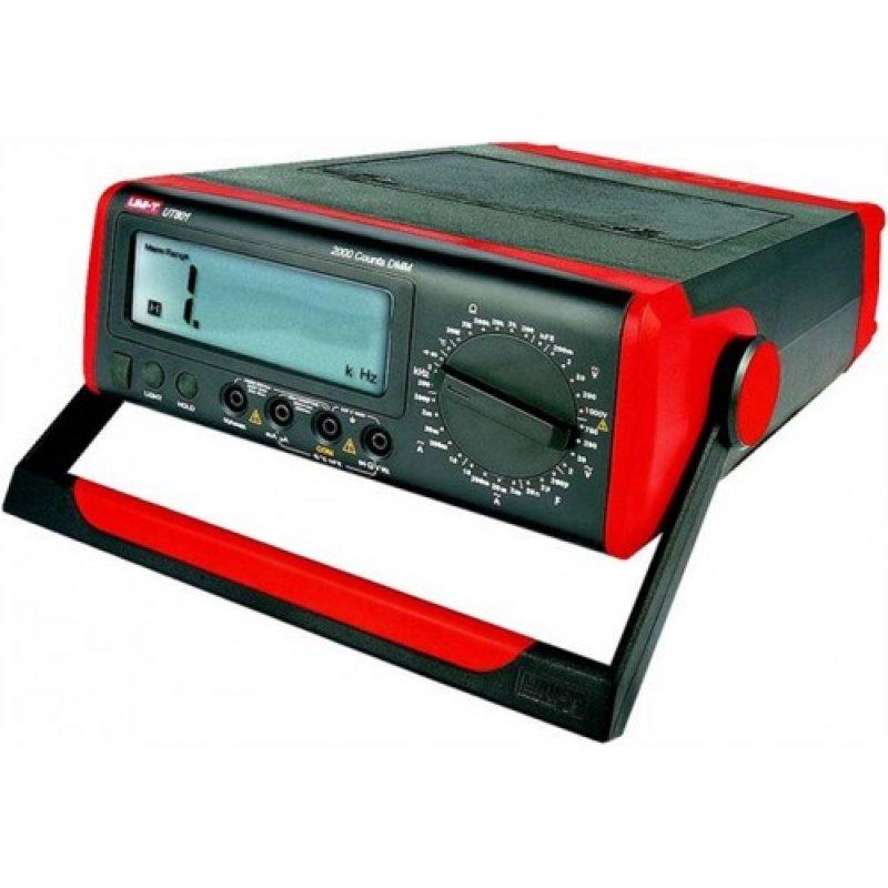 Ψηφιακό πολύμετρο πάγκου - εργαστηριακό της UNI-T UT801