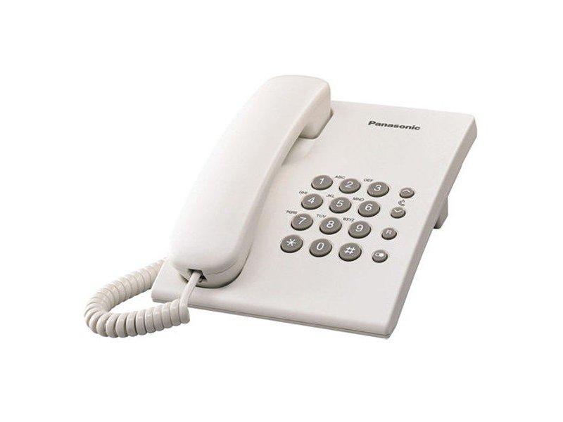 Ενσύρματο Τηλέφωνο Panasonic KX-TS500EXW
