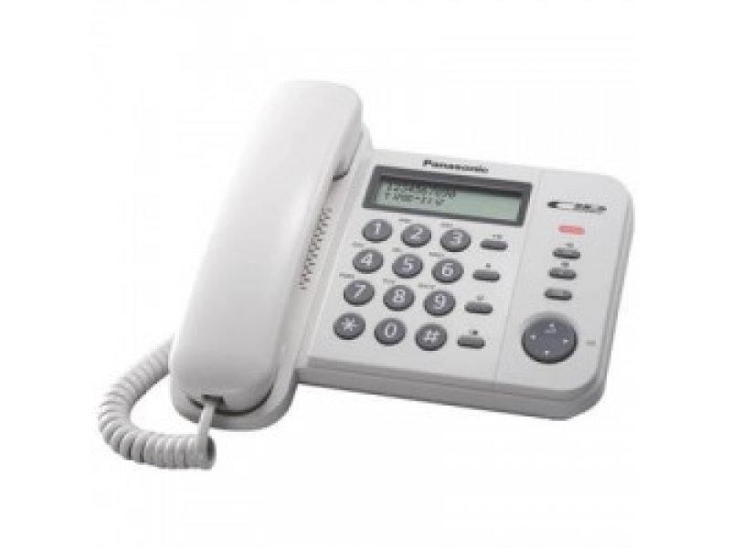 Ενσύρματο Τηλέφωνο Panasonic KX-TS560EX2W