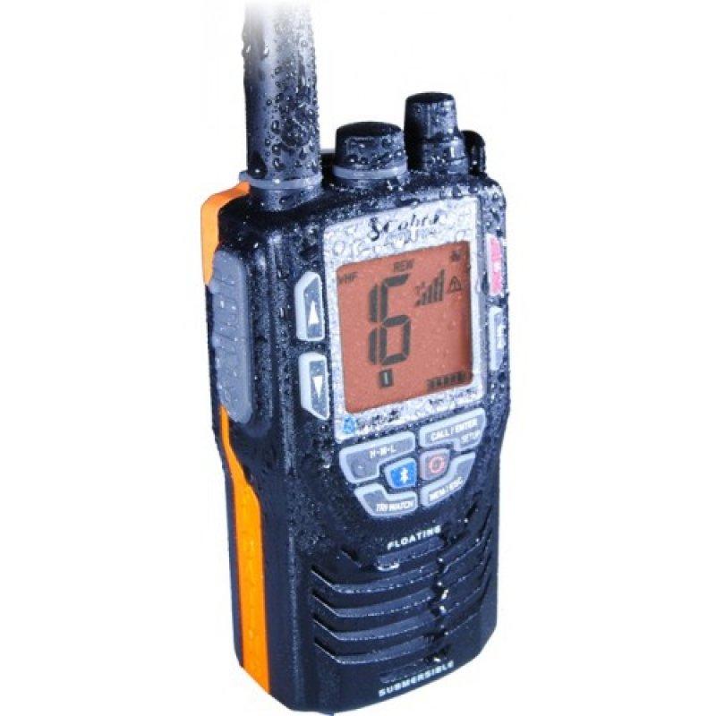 Cobra MR-HH475 FLT BT VHF Marine Φορητός πομποδέκτης, αδιάβροχος (JIS7), ισχύος 6 Watts με BlueTooth και λειτουργία 'Rewind-say again'.