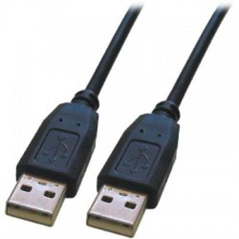 Καλώδιο USB A αρσ. - USB A αρσ.,2.0 Μήκος:1.8m