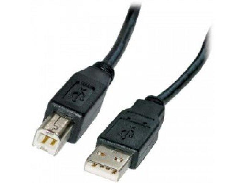 Καλώδιο USB A αρσ.- USB αρσ., 2.0 Μήκος:3m