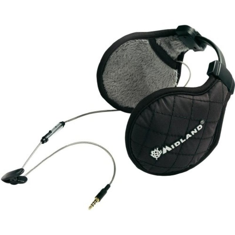 Midland SubZero Music μαύρα Στερεοφωνικά ακουστικά σκιέρ