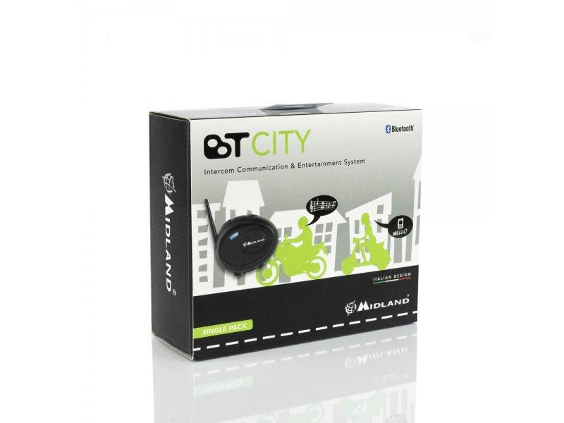 Midland BT City (Μονό) Ενδοεπικοινωνία μηχανής με τεχνολογία Bluetooth.