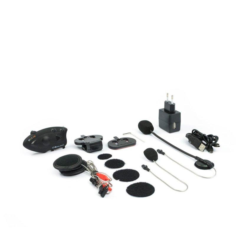 Midland BTX2 Single Pack - Προηγμένο σύστημα ενδοεπικοινωνίας για μηχανές.