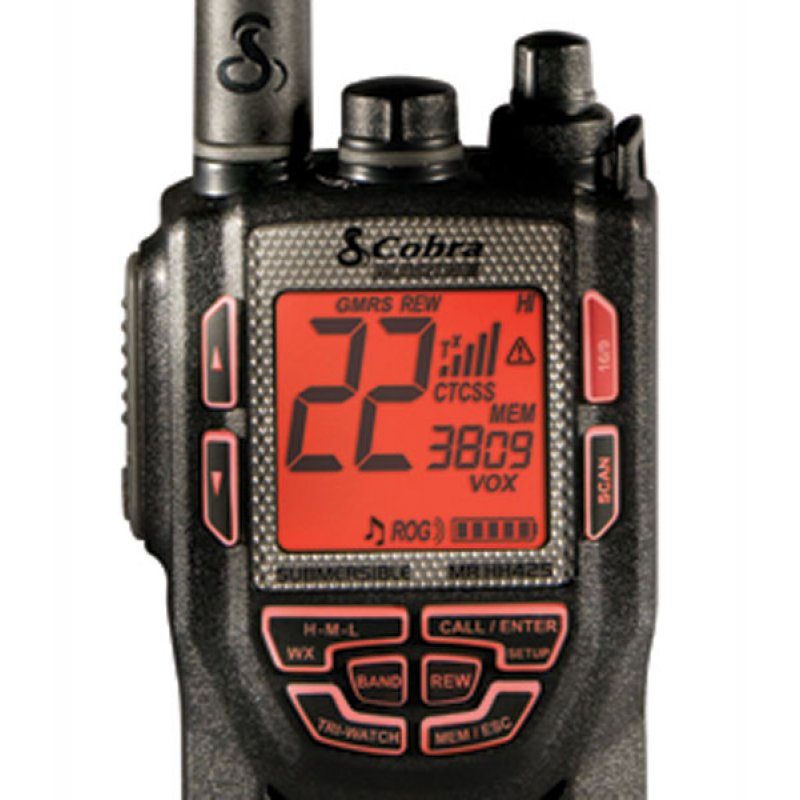 Cobra MR-HH415LI VP VHF Marine Φορητός πομποδέκτης, αδιάβροχος (JIS7), ισχύος 5 Watts.
