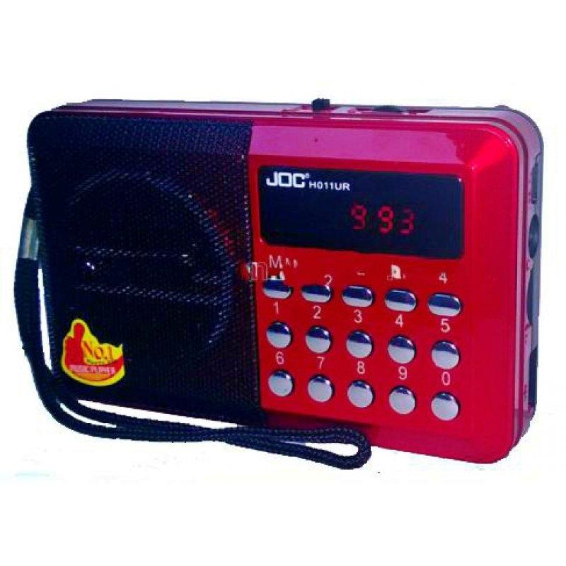 Ραδιόφωνο επαναφορτιζόμενο με υποδοχή USB φορητό και ρεύματος.