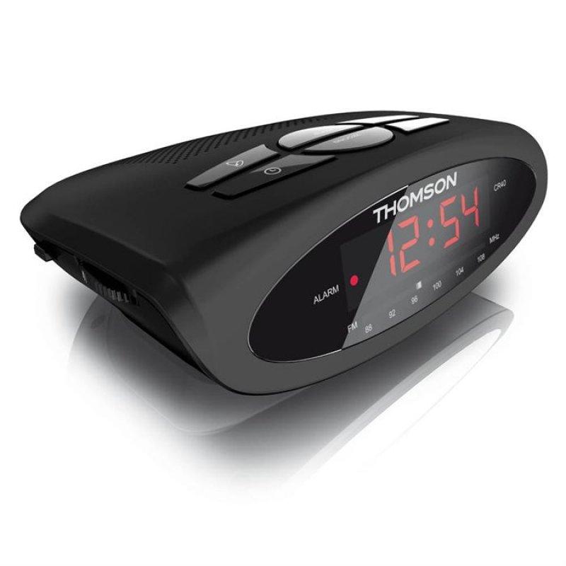 Ραδιο-ρολοϊ ρεύματος με ξυπνητήρι και λειτουργία Snooze Thomson CR40