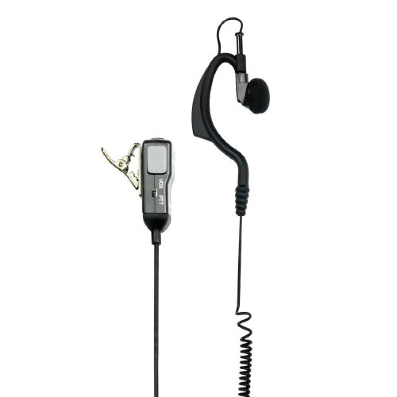 Midland MA21-L Μικροακουστικό σιλικόνης με μικρόφωνο πέτου