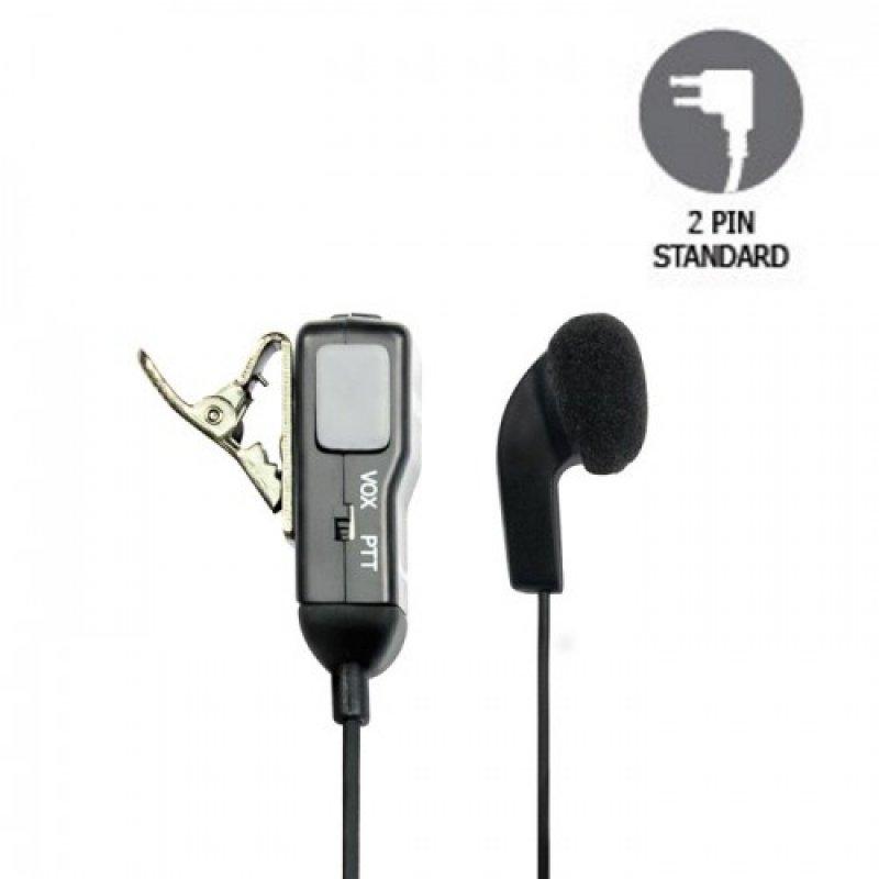 Midland MA28-L Μονό ακουστικό με μικρόφωνο.
