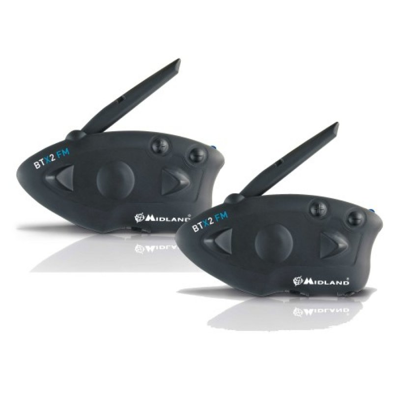 Midland BTX1 FM (Ζευγάρι) Σύστημα ενδοεπικοινωνίας Bluetooth για μηχανές