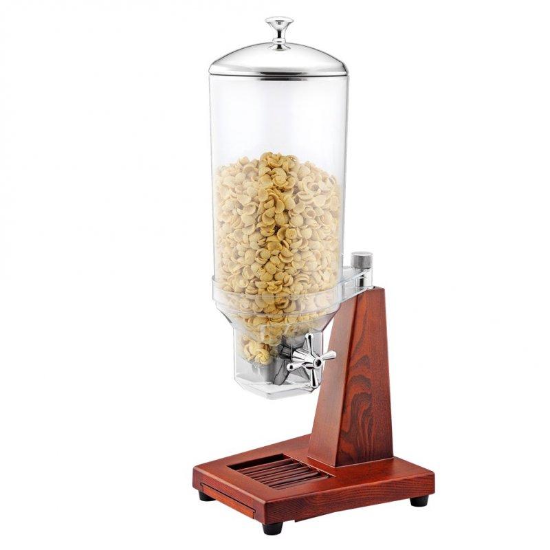 Διανεμητής Δημητριακών Μονός με Ξύλινη Βάση, 7 λίτρων