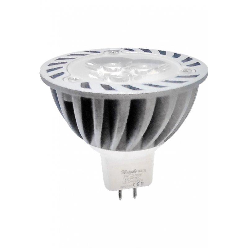Λάμπα Led με βάση MR-16 240 Lumens/6500K Cool