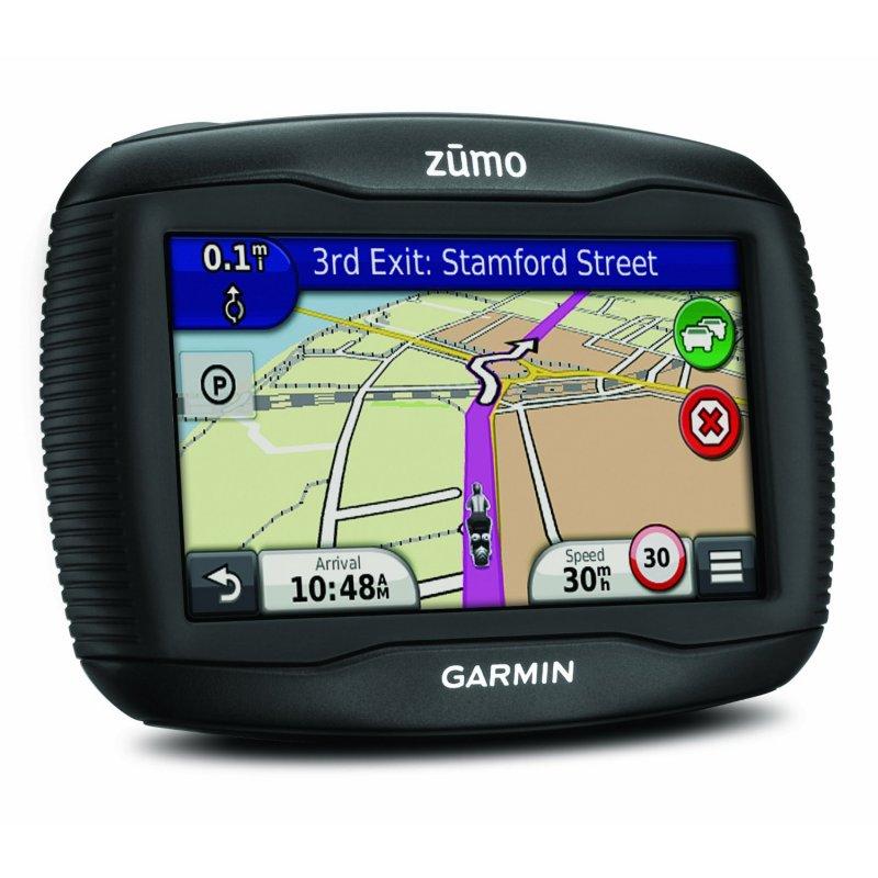 "Garmin Zūmo 390 Πλοηγός GPS 4.3"" σχεδιασμένος για μοτοσυκλέτες."