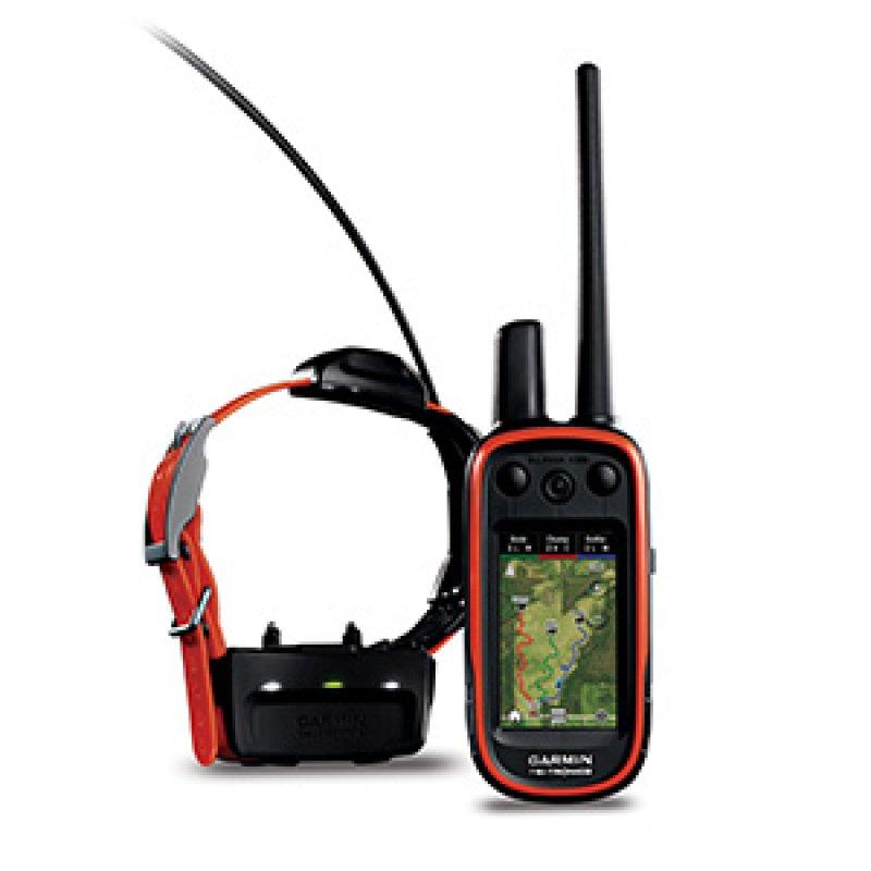 Garmin Alpha 100 Σετ GPS χειρός εκπαίδευσης και εντοπισμού σκύλων με κολάρο T5 και προφορτωμένο χάρτη Ελλάδος.