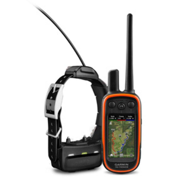 Garmin Alpha 100 Σετ GPS χειρός εκπαίδευσης και εντοπισμού σκύλων με κολάρο TT15 και προφορτωμένο χάρτη Ελλάδος.