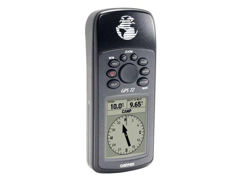 Garmin GPS 72H Φορητό GPS πλοήγησης χειρός.