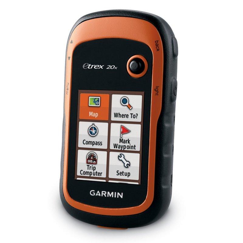 Garmin eTrex 20x Φορητό GPS πλοήγησης χειρός με προφορτωμένο Topo Drive Hellas.