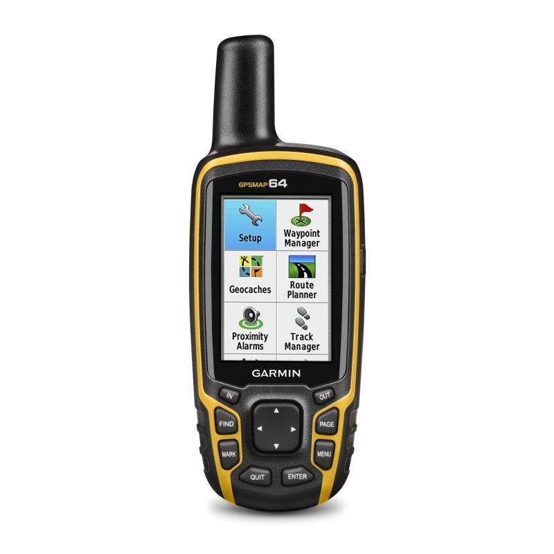 Garmin GPSMAP 64 TopoDrive Hellas Φορητό GPS πλοήγησης χειρός.