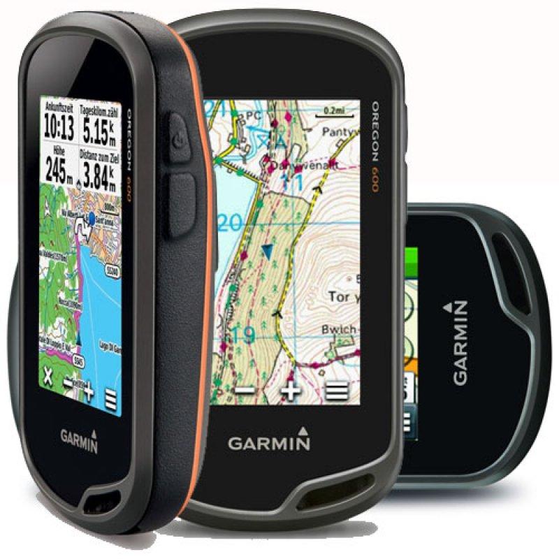 Garmin Oregon 600t TopoDrive Φορητό GPS πλοήγησης χειρός.