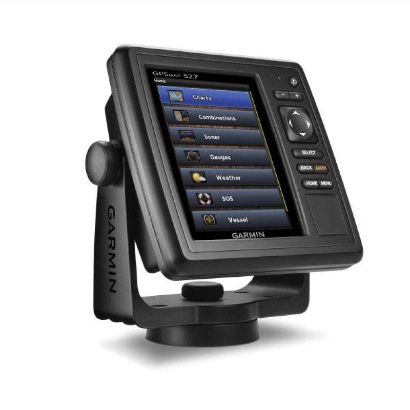 """Garmin GPSMAP 527 Χαρτογραφικό GPS θαλάσσης με οθόνη αφής 5""""."""
