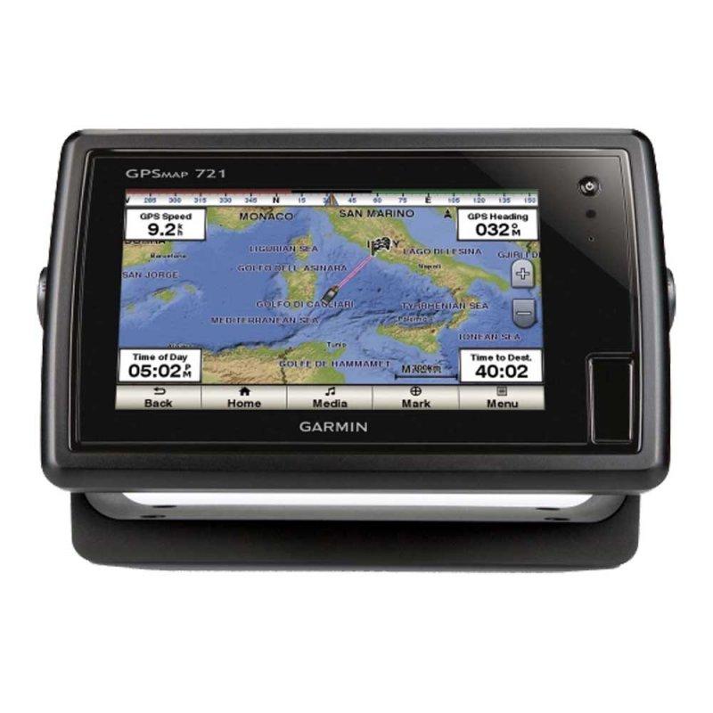 """Garmin GPSMAP 721 Χαρτογραφικό GPS θαλάσσης με οθόνη αφής 7""""."""