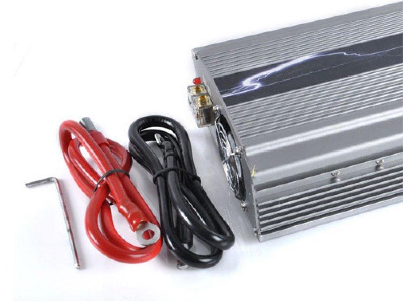 Inverter Αυτοκινήτου 800W για μετατροπή DC ρεύματος σε AC. Ιδανικό για λειτουργία μικροσυσκευών
