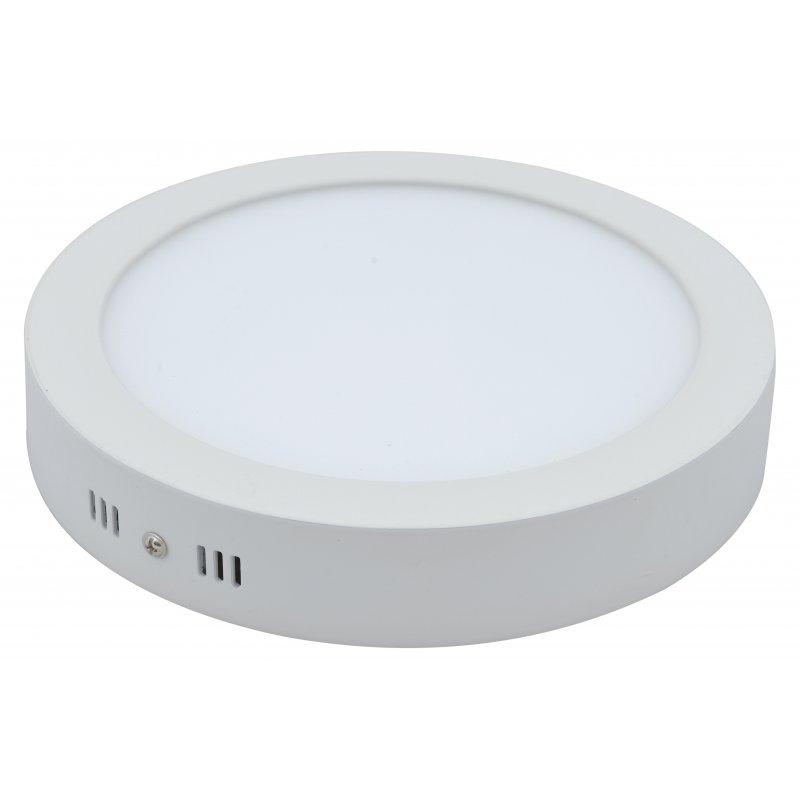 Φωτιστικό LED οροφής είναι ισοδύναμο με 60 Watt/6000Κ, ενώ καταναλώνει μόνο 18 watt