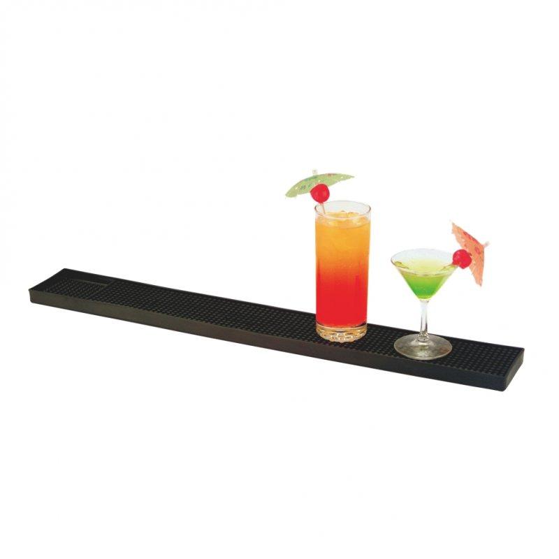 Service Bar Mat Μαύρο Λάστιχο 59x8x1cm