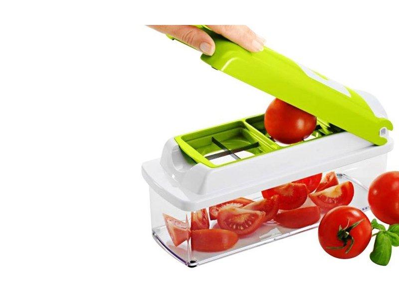Έξυπνος Πολυκόφτης Λαχανικών και Φρούτων(Κόβει εύκολα και γρήγορα σε φέτες, μικρά κομματάκια, κύβους, λωρίδες και τέταρτα)