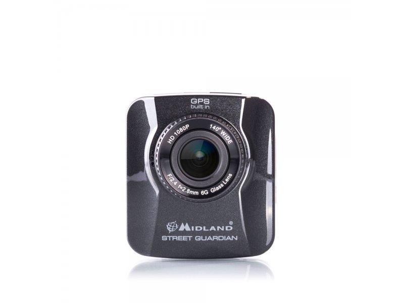 Κάμερα πορείας αυτοκινήτου Full-HD με ενσωματωμένο GPS Tracker Midland Street Guardian.