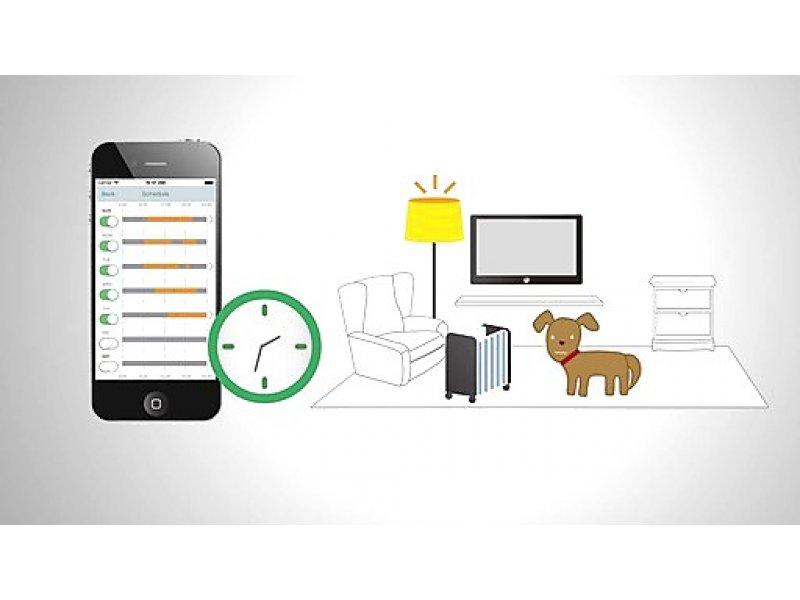 Τηλεχειριζόμενη πρίζα μέσω WiFi με χρονοδιακόπτη