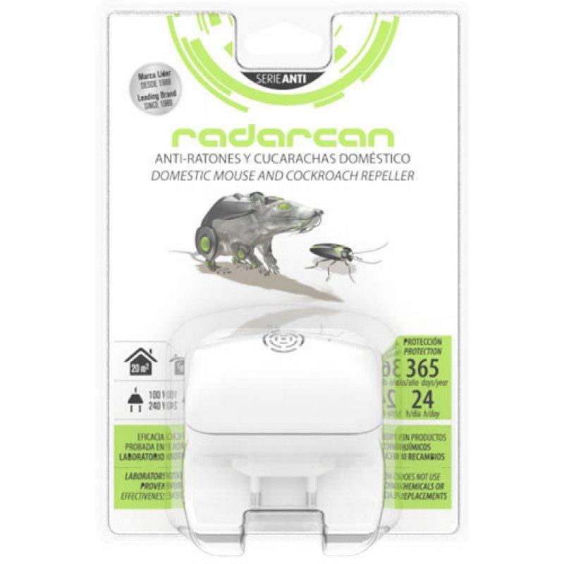 Απωθητική συσκευή υπερήχων κατάλληλη για αρουραίους, ποντίκια και κατσαρίδες Radarcan SC-6RC