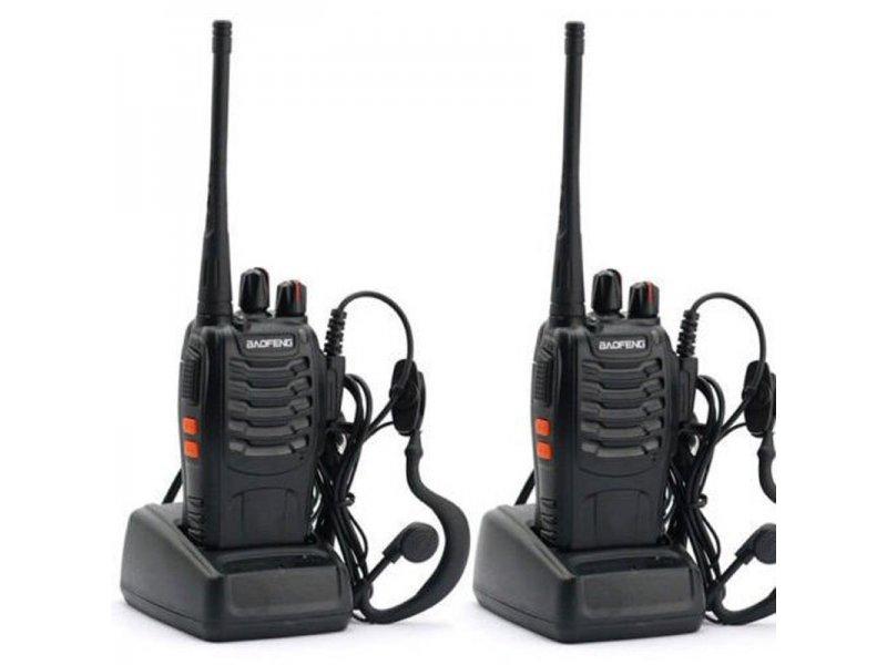 2 τεμάχια Baofeng bf-888s Φορητός επαγγελματικός πομποδέκτης PMR για ερασιτεχνική ή επαγγελματική χρήση