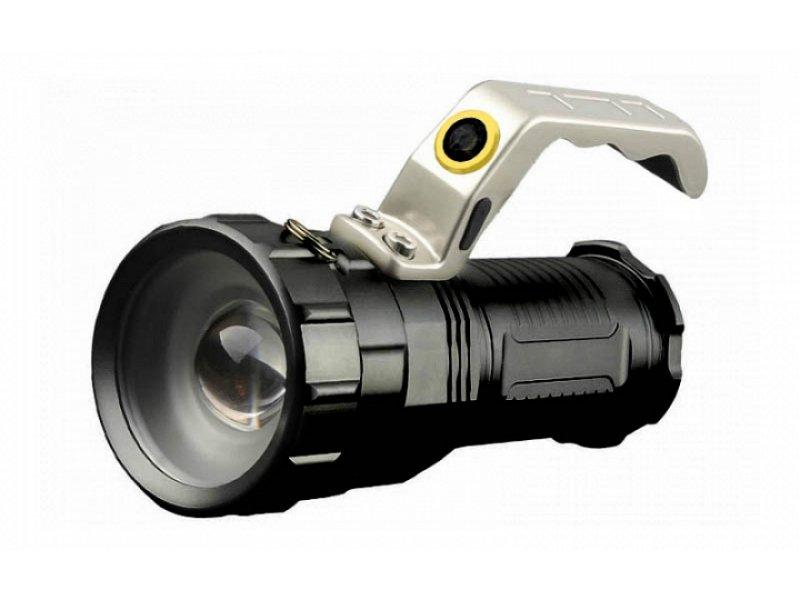 Αδιάβροχος φακός Led πολύ υψηλής φωτεινότητας με χερούλι Cree XM-L800LM