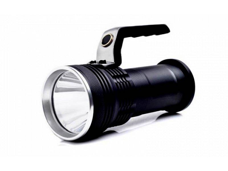 Αδιάβροχος φακός Led πολύ υψηλής φωτεινότητας με χερούλι Cree XPE/XML-T6 LED JT-T90