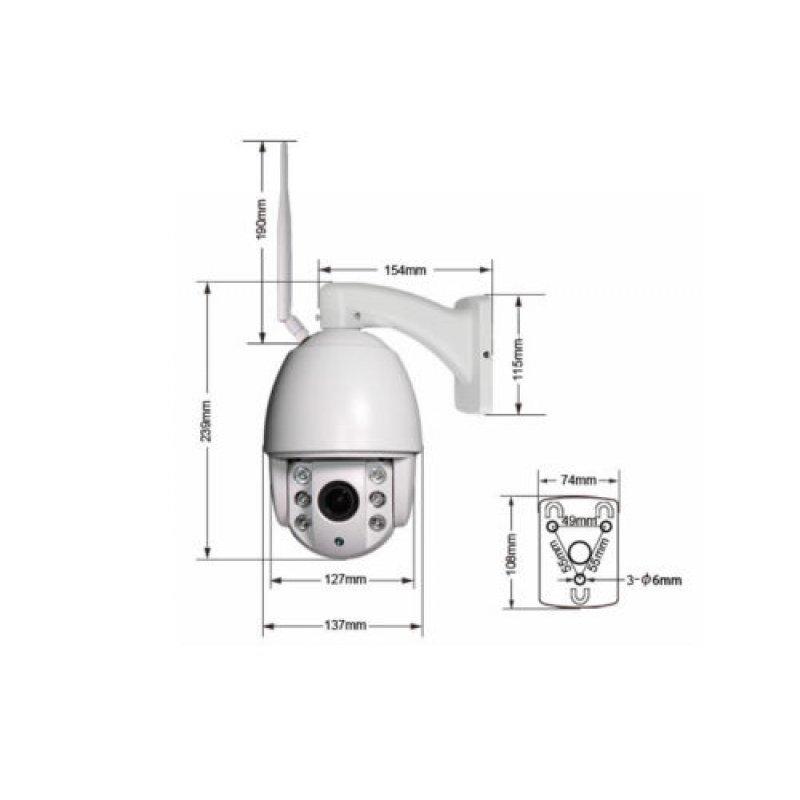 IP Camera Wi-Fi 1080P Εξωτερικού χώρου αδιάβροχη