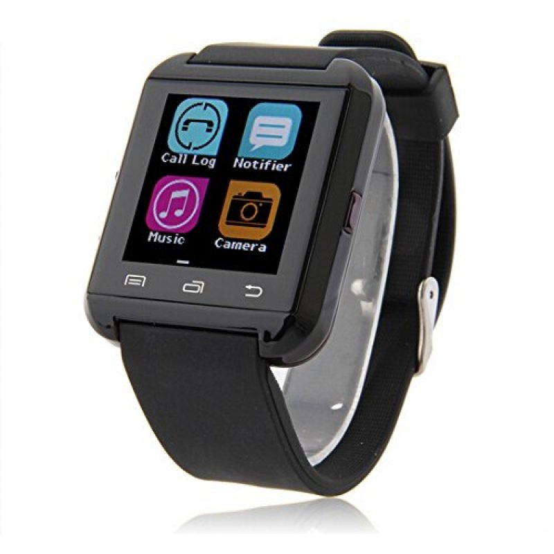 Ρολόι Smart Watch U8 Bluetooth Phone Mate IOS, Android, iPhone, Samsung - ΜΑΥΡΟ