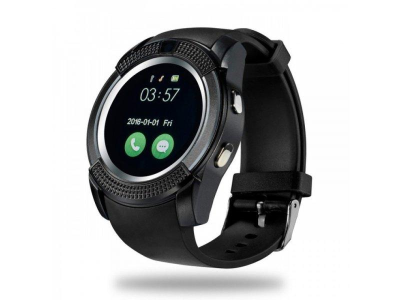 Ρολόϊ SmartWatch V8 Bluetooth Phone Mate IOS, Android με ενσωματωμένη κάμερα