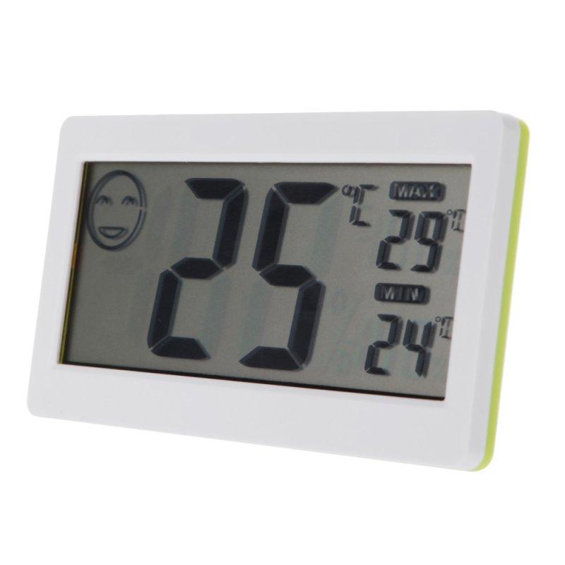 Ψηφιακό θερμόμετρο/Υγρόμετρο ακριβείας με μεγάλη οθόνη DC206