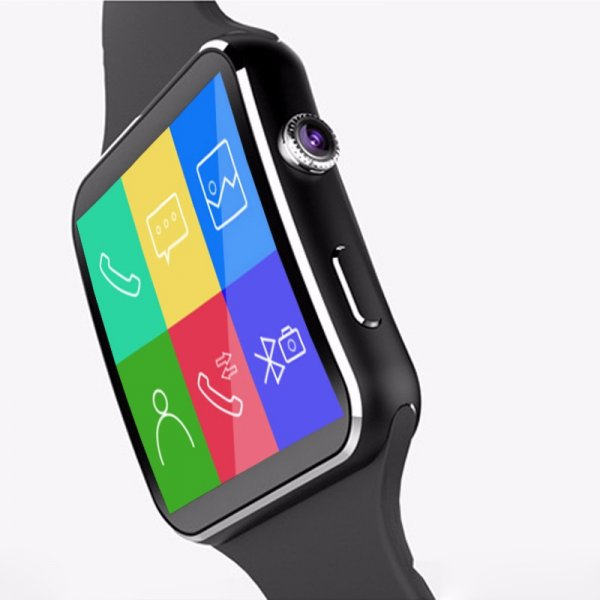 Ρολοϊ Smartwatch X6 Bluetooth με κάμερα καυ υποδοχή κάρτας sim και μνήμης
