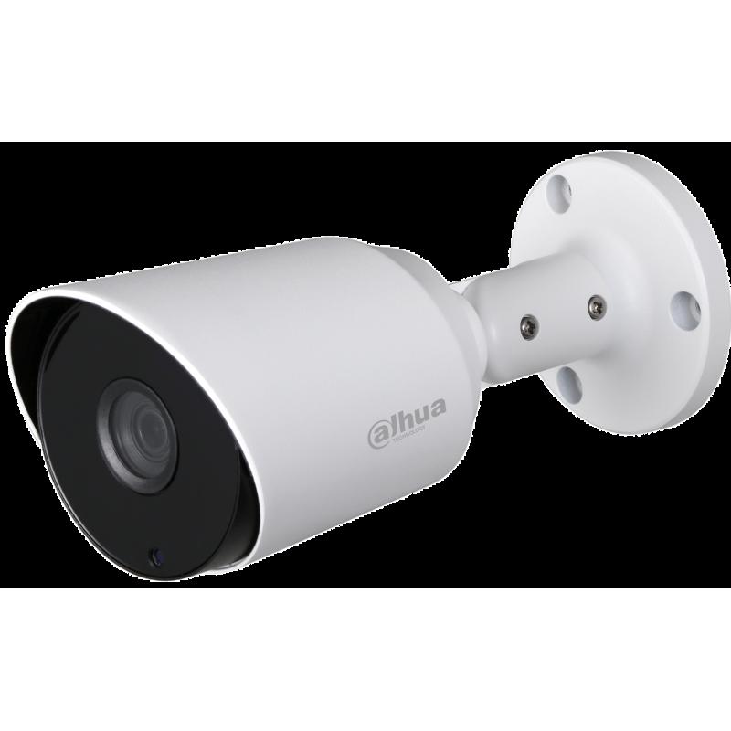 Dahua Ενσύρματη Κάμερα Bullet 4MP, με φακό 2.8mm και IR 20m.