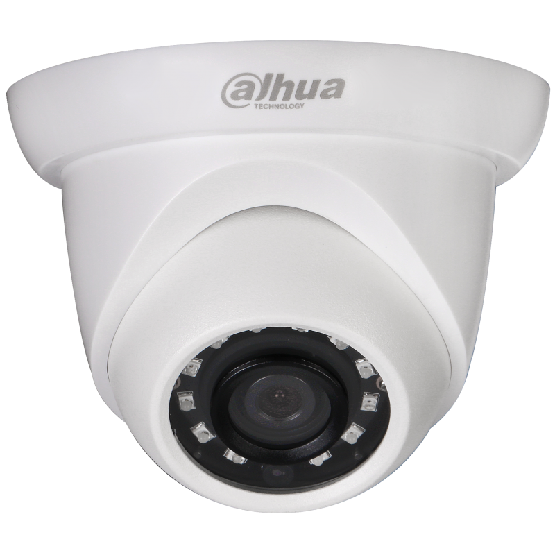 Dahua IP Dome κάμερα 2MP, με φακό 2.8mm και IR30m.